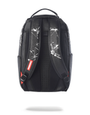 Sprayground Jarvis Landry JuiceTempo Backpack Black Back