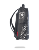 Sprayground Broken Glass Shark Backpack Black Side