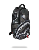 Sprayground Camo Tie Dye Shark Backpack
