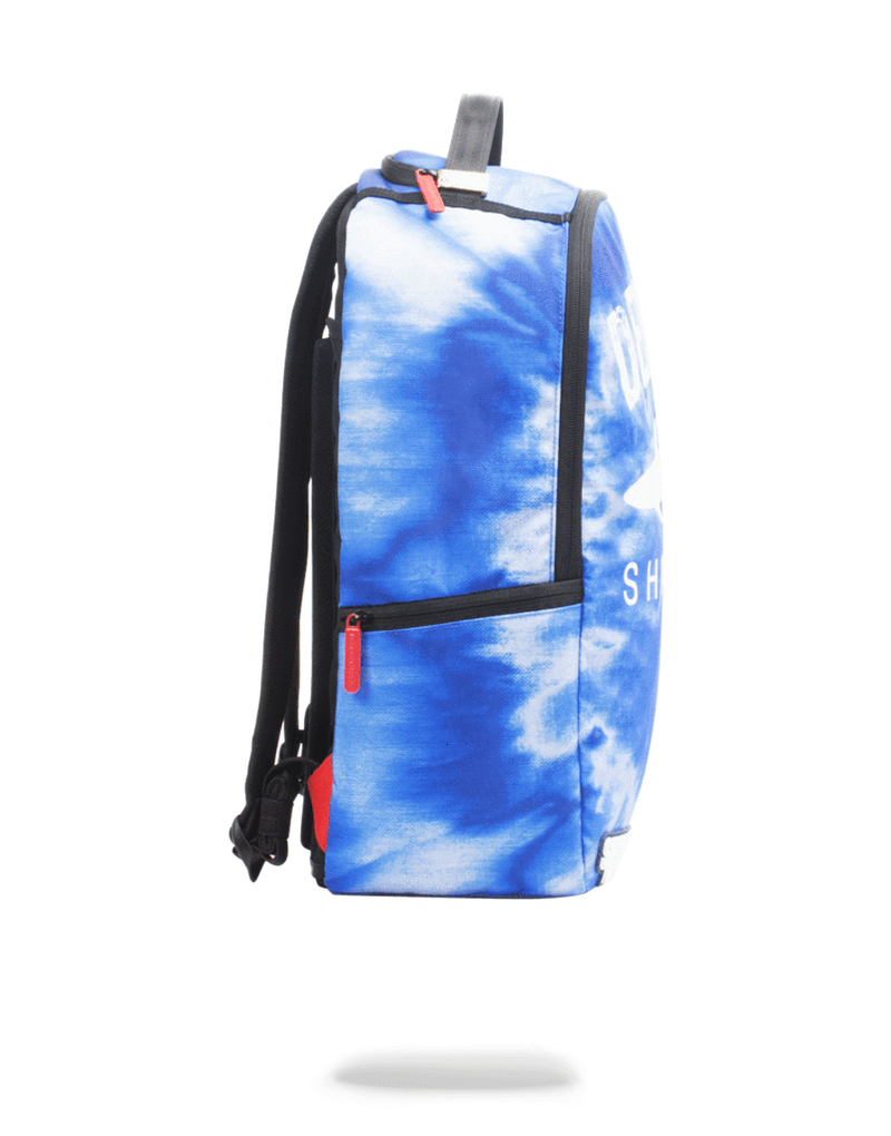 Sprayground Defend Sharks Backpack Blue Side