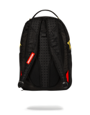 Sprayground Destroy Shark Gold Camo Back