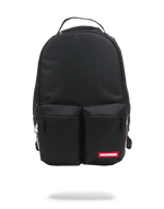 Sprayground Double Cargo Side Shark Backpack Black Front