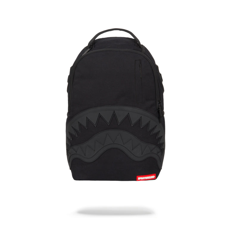 Sprayground Ghost Rubber Shark Backpack Black