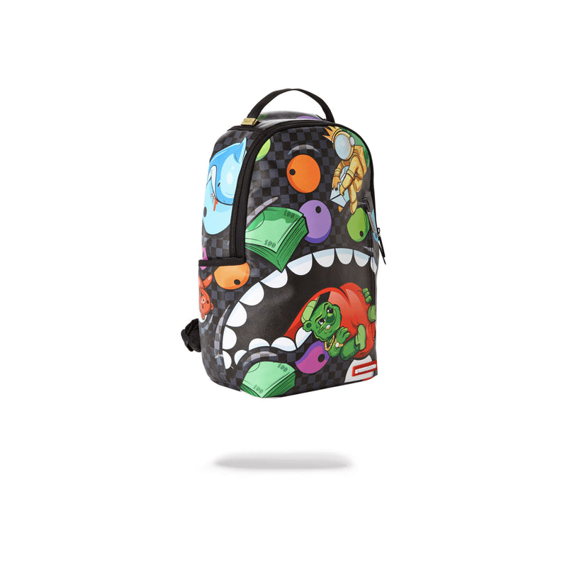 Sprayground House Of Madness Backpack Black