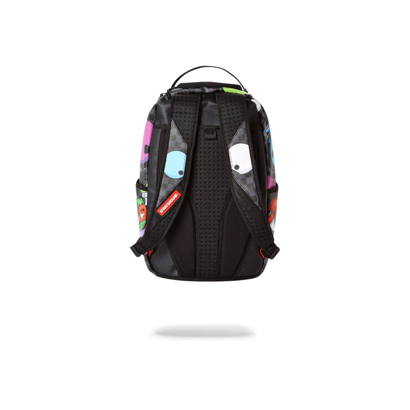 Sprayground House Of Madness Backpack Black Back