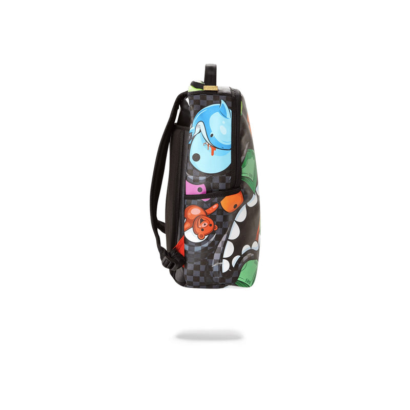 Sprayground House Of Madness Backpack Black Side