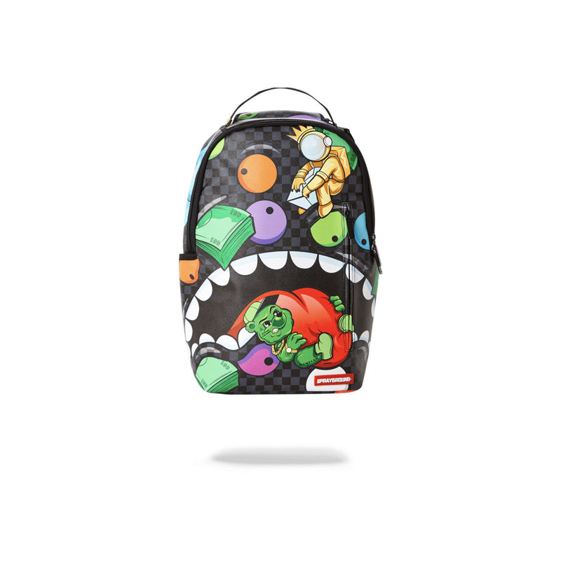 Sprayground House Of Madness Backpack Black Front