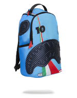 Sprayground Jake Paul Lambros Shark Backpack Blue