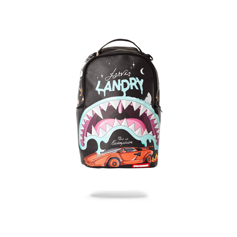 Sprayground Juice In Paradise Shark Backpack Black