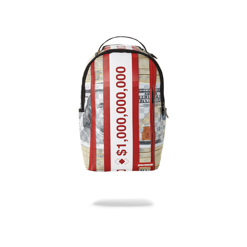 Sprayground Money Bands Backpack Red Front