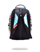 Sprayground Monopoly Money Wings Backpack Back