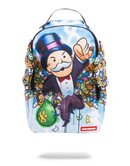 Sprayground Monopoly Money Wings Backpack Front