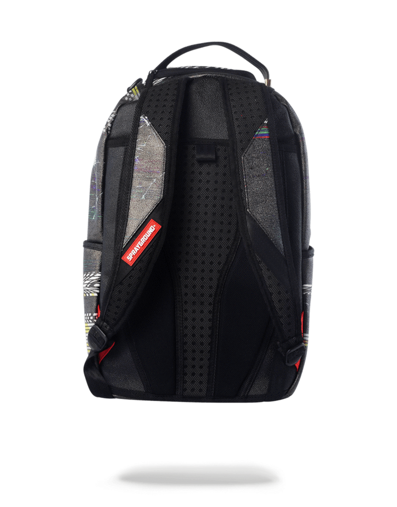 Sprayground Player #1 Backpack Black Back