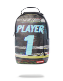 Sprayground Player #1 Backpack Black Front