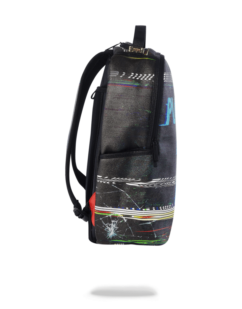 Sprayground Player #1 Backpack Black Side