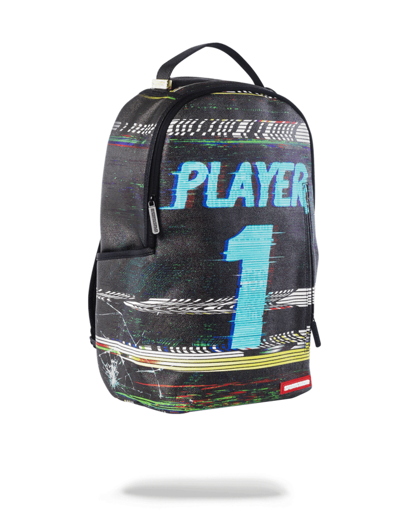 Sprayground Player #1 Backpack Black