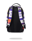 Sprayground Purple Bands Backpack Purple Back