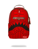 Sprayground Reverse Sharks In Paris Backpack Red Front