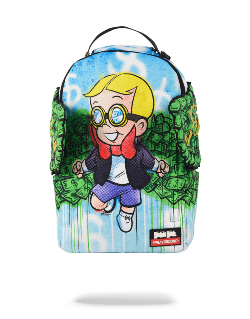 Sprayground Richie Rich Money Wings Backpack Front