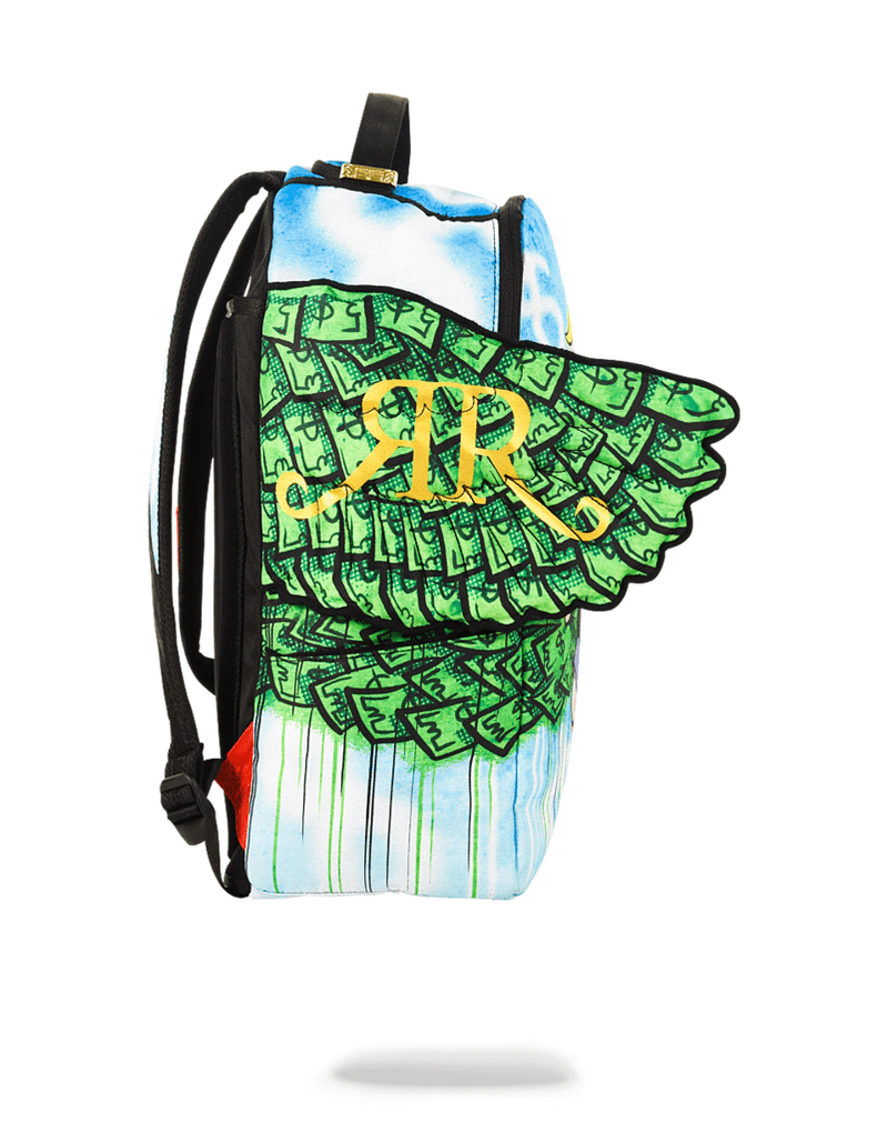 Sprayground Richie Rich Money Wings Backpack Side