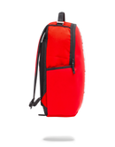 Sprayground Rubber Logo Backpack Red Side