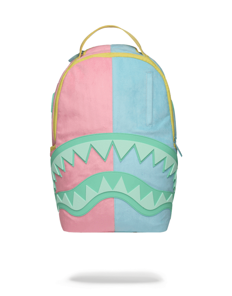 0b31e3ff3e2 Sprayground Saweetie Shark Backpack Pink Front