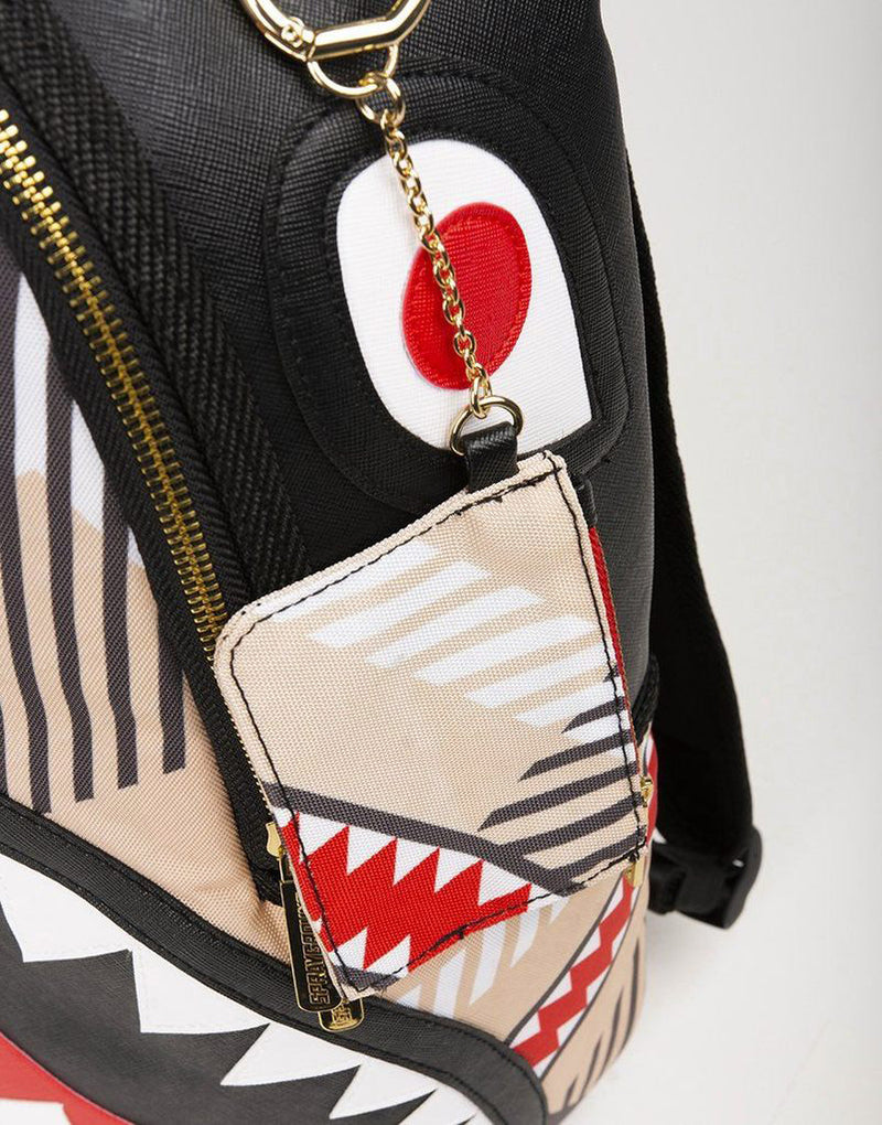Sprayground Sharks In London Backpack Black Patch