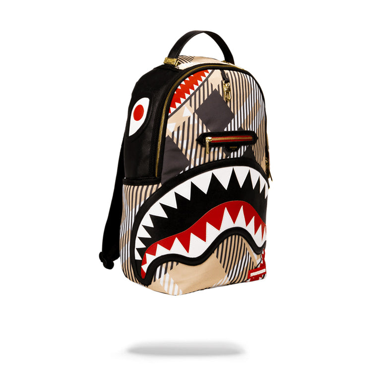 Sprayground Sharks In London Backpack Black