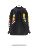 Sprayground Simpsons Anime Pileup Backpack Back