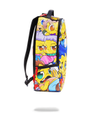 Sprayground Simpsons Anime Pileup Backpack Side