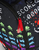 Sprayground Space Invaders Shark Backpack Black Zippers