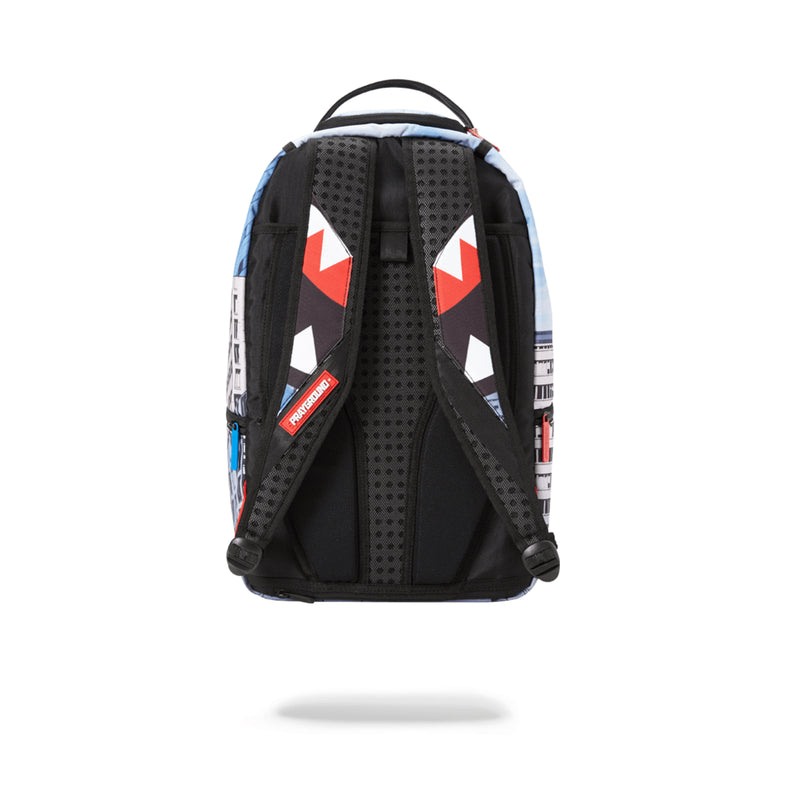 Sprayground Spiderman Upside Down Shark Backpack Assorted Back