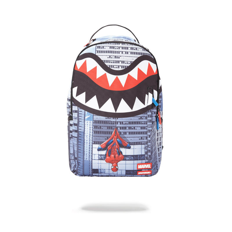 Sprayground Spiderman Upside Down Shark Backpack Assorted