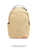 Sprayground Timber Shark Backpack Wheat Front