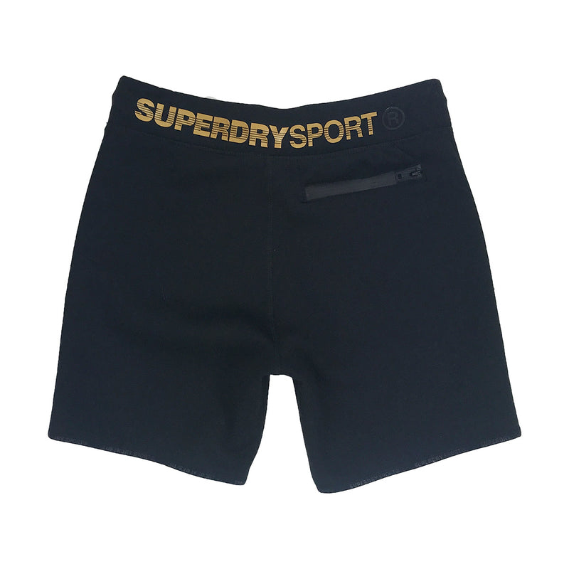 Superdry Gymtech Gold Medal Shorts Black Back
