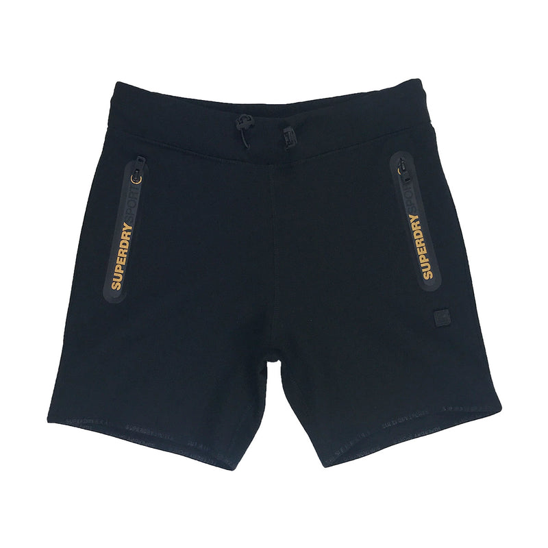 Superdry Gymtech Gold Medal Shorts Black