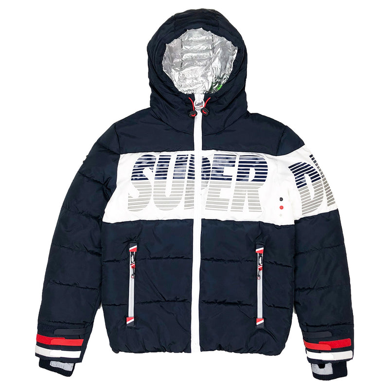 Superdry Japan Breakers Utility Jacket Navy Blue