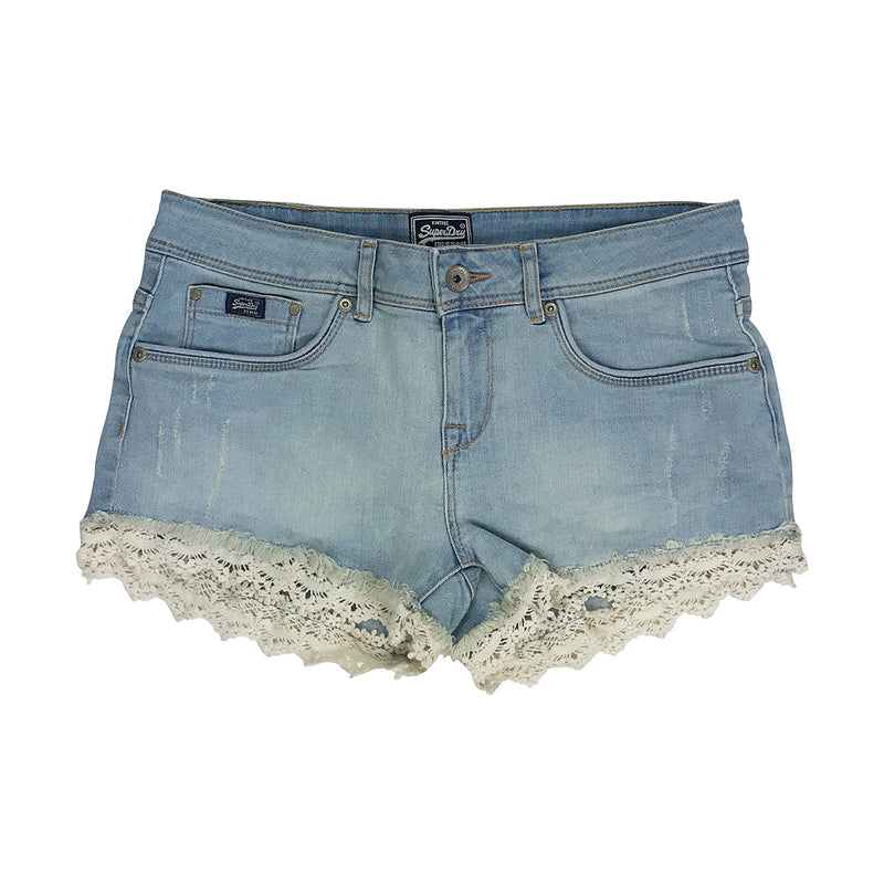 Superdry Lace Trim Hot Short