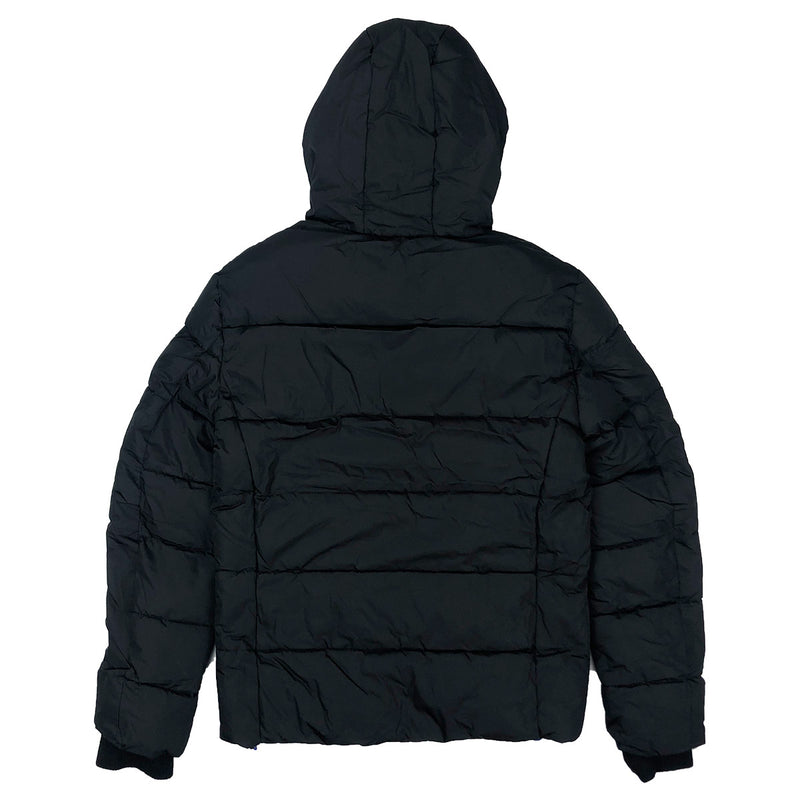 Superdry Men's Sport Puffer Jacket Black Back