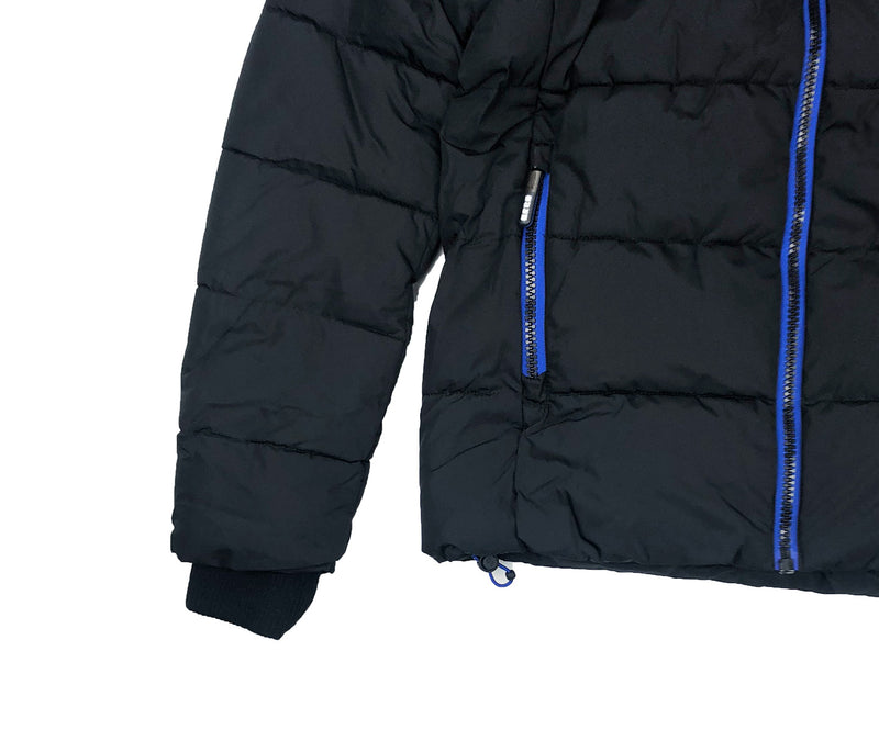 Superdry Men's Sport Puffer Jacket Black Trim