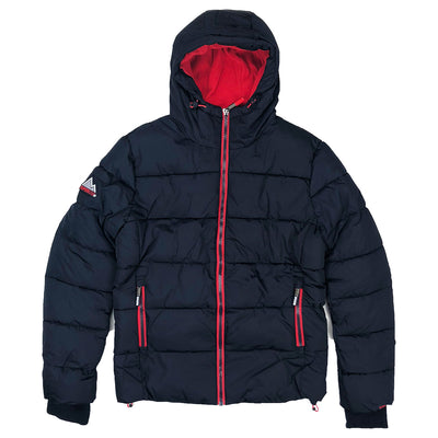 Superdry Men's Sports Puffer Jacket Navy Blue