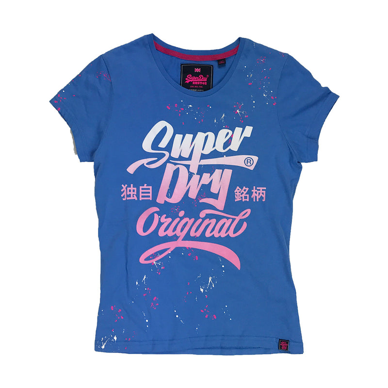 Superdry Original Brand Entry Tee Blue