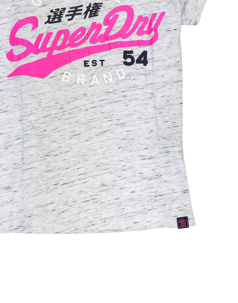 Superdry SD 54 Entry Tee Grey Waist