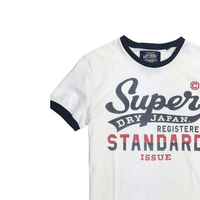 Superdry - Mens - Standard Issue Ringer Tee