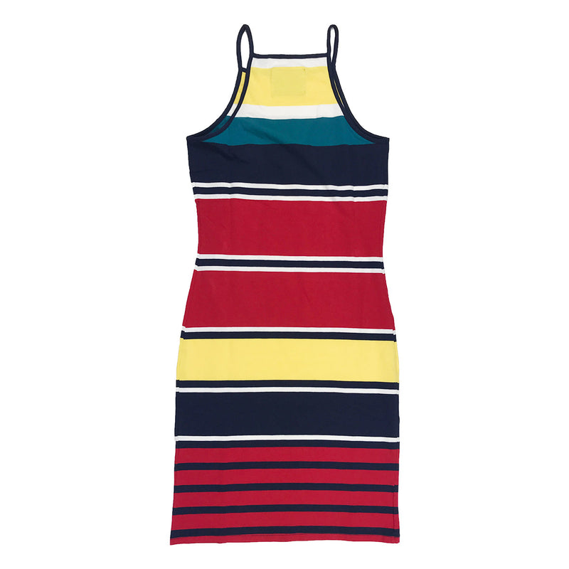 Superdry Strappy Stripe Dress Multi Back