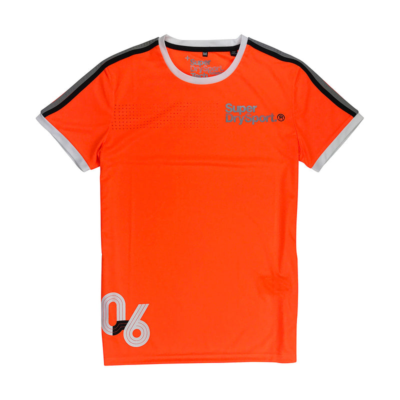 Superdry Team Tech Tee Original Orange