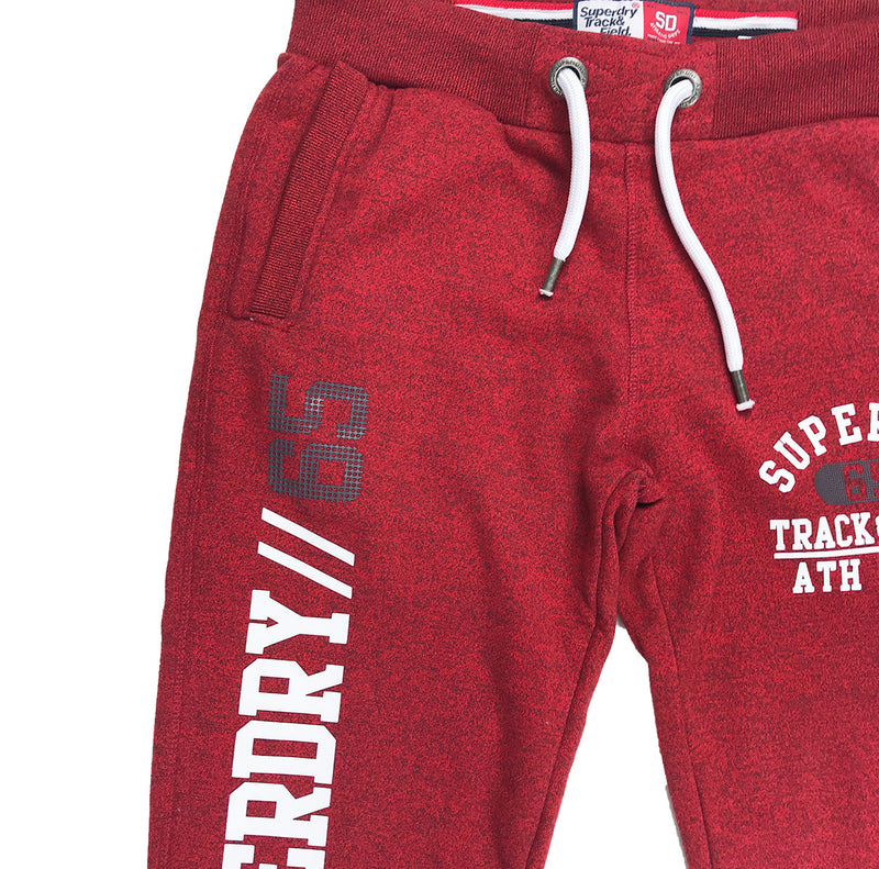 Superdry Trackster Jogger Lake Red Waist