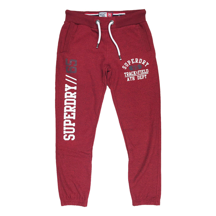 Superdry Trackster Jogger Lake Red