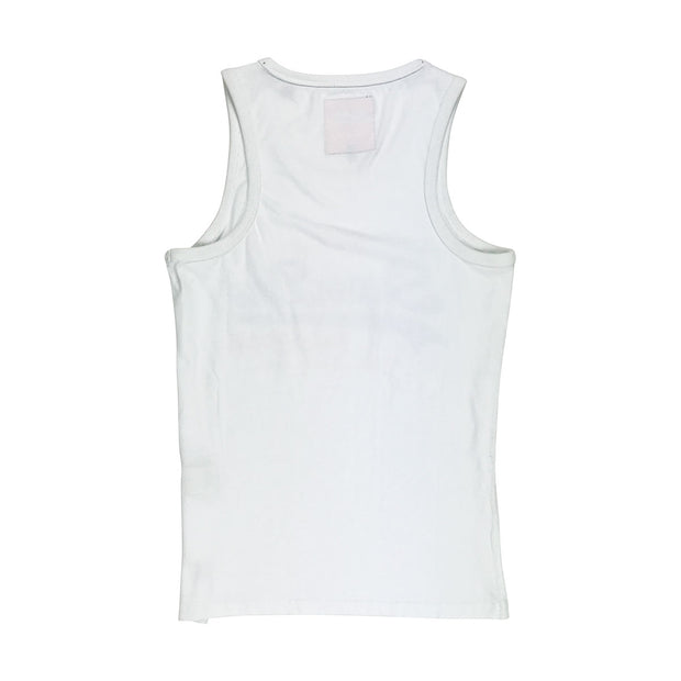 Superdry Vintage Logo Duo Entry Vest White Back