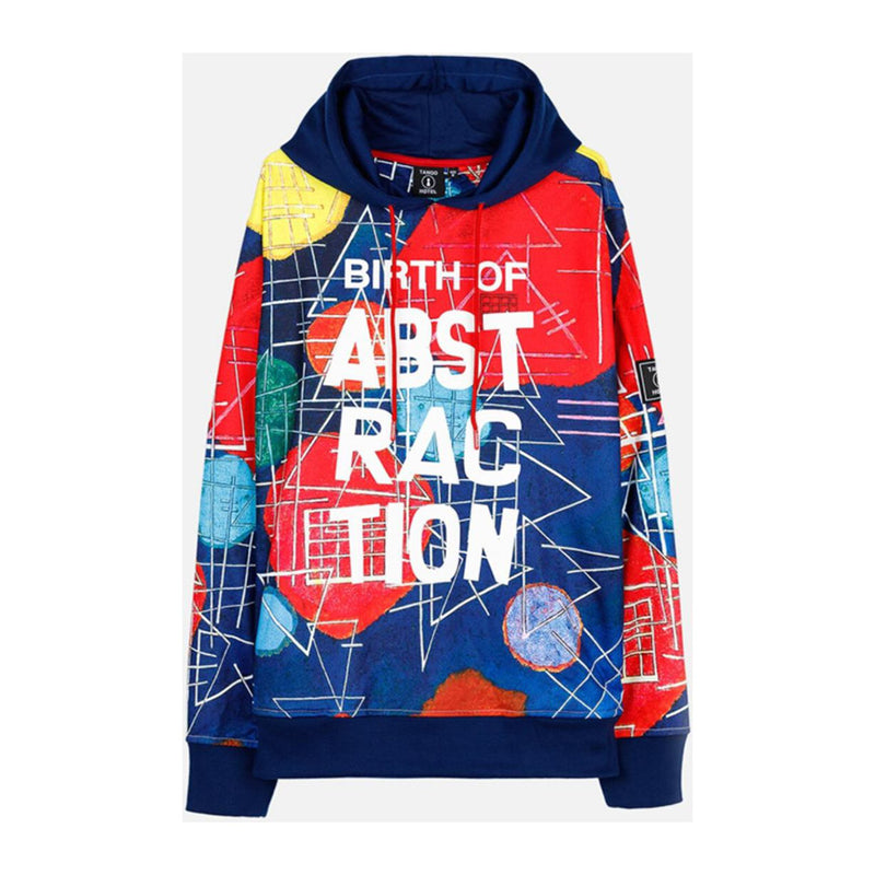 Tango Hotel Men's Kandinsky Abstraction All Over Hoodie